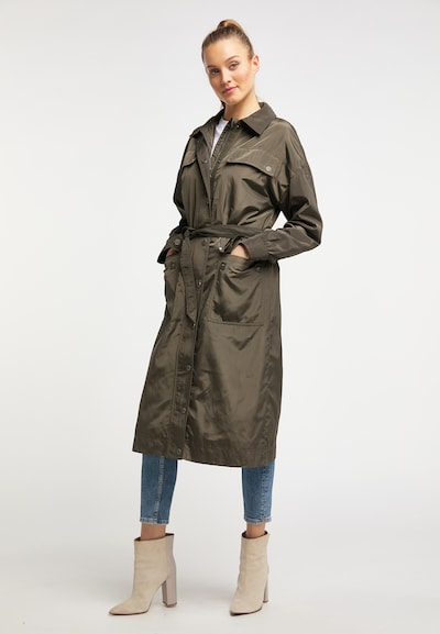 DREIMASTER Manteau d'hiver en kaki, Vue avec produit