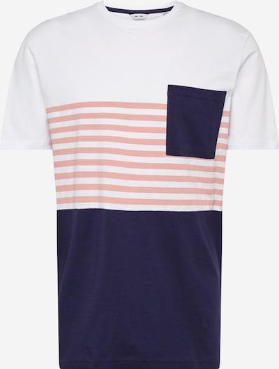 Only & Sons Shirt 'ONSDEL MAR' in dunkelblau / weiß, Produktansicht