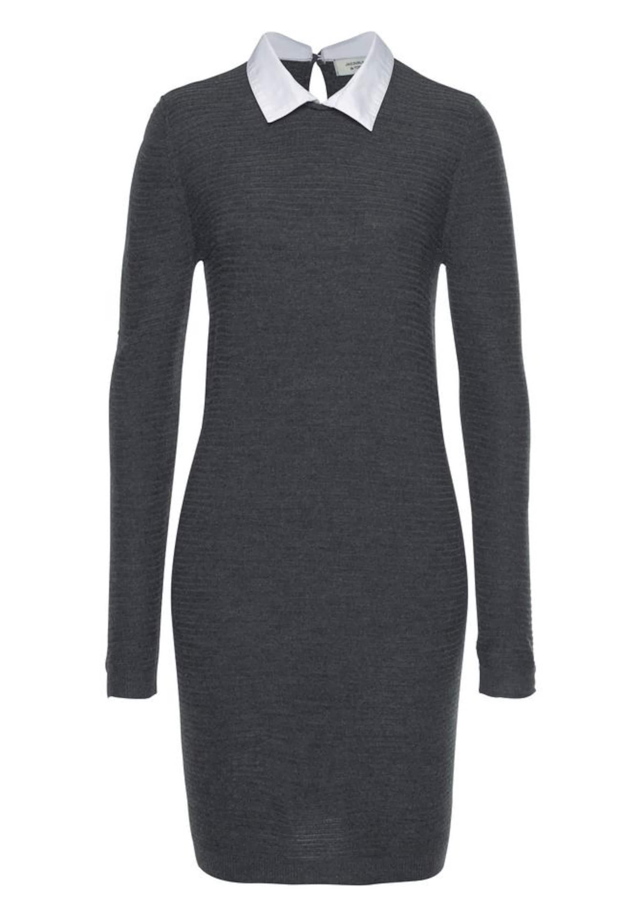 Kleid 'mathison' Yong Jacqueline In GraumeliertWeiß De 5jL4RA