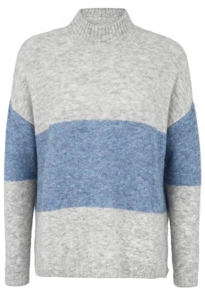 BETTER RICH Pullover 'TURTLE BOXY STRIPE' in grau, Produktansicht