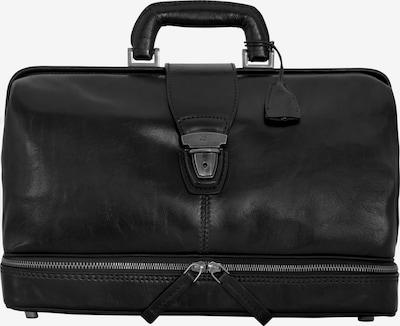 The Bridge Story Uomo Doktortasche Bügeltasche Leder 36 cm in schwarz, Produktansicht