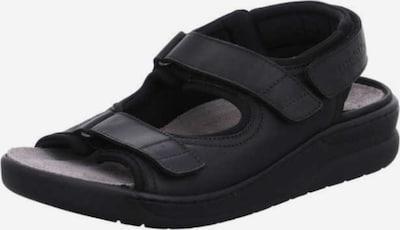 MOBILSergonomic Sandals 'Valden' in Black, Item view