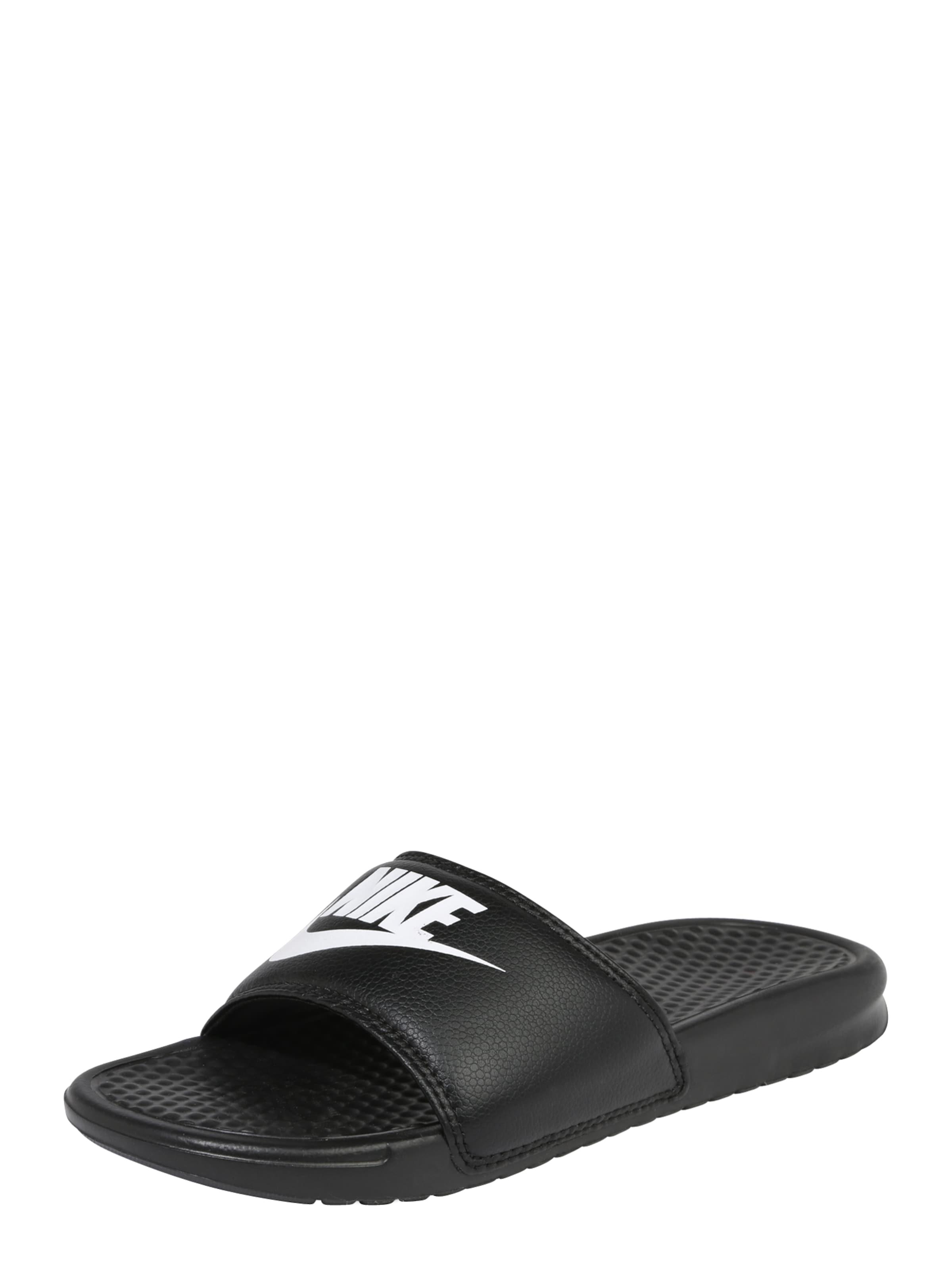 Sandalen Nike In Sportswear 'benassi' SchwarzWeiß ZOkXTuPi
