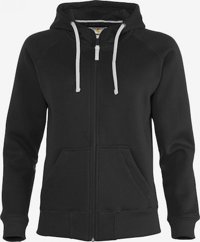 BRDS Sweatjacke 'SARAFINA' in schwarz, Produktansicht
