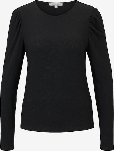 TOM TAILOR DENIM Shirt in schwarz, Produktansicht