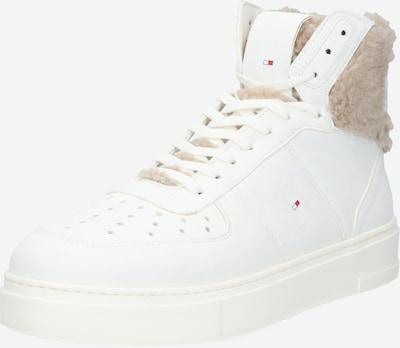 TOMMY HILFIGER Sneaker 'Lewis Hamilton SHEARLING' in dunkelbeige / weiß, Produktansicht