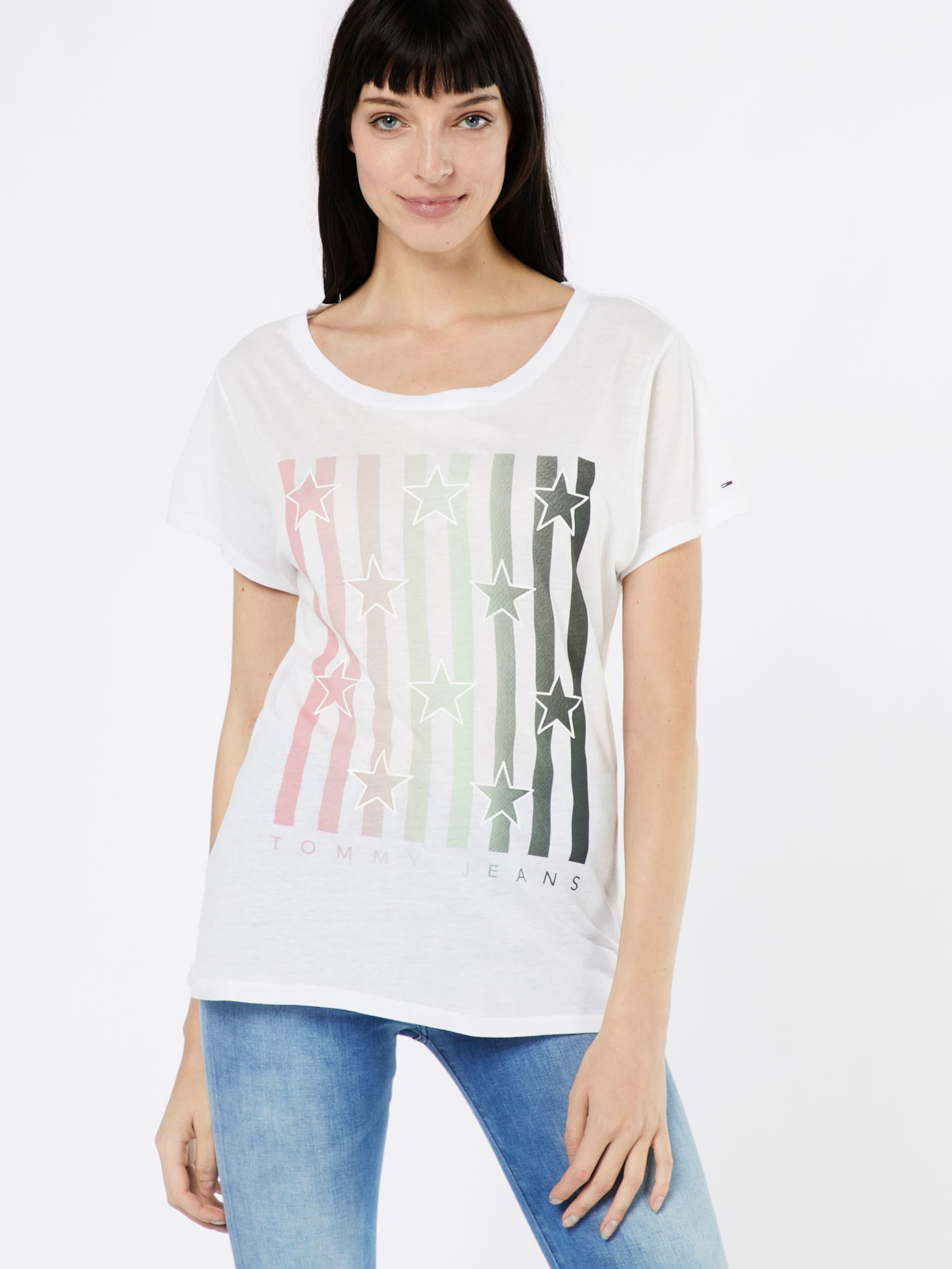 Tommy Jeans T-Shirt 'FLAG' Am Billigsten Erstaunlicher Preis Zu Verkaufen Billig Exklusiv Günstig Kaufen Shop Grau-Outlet-Store Online alImLAK