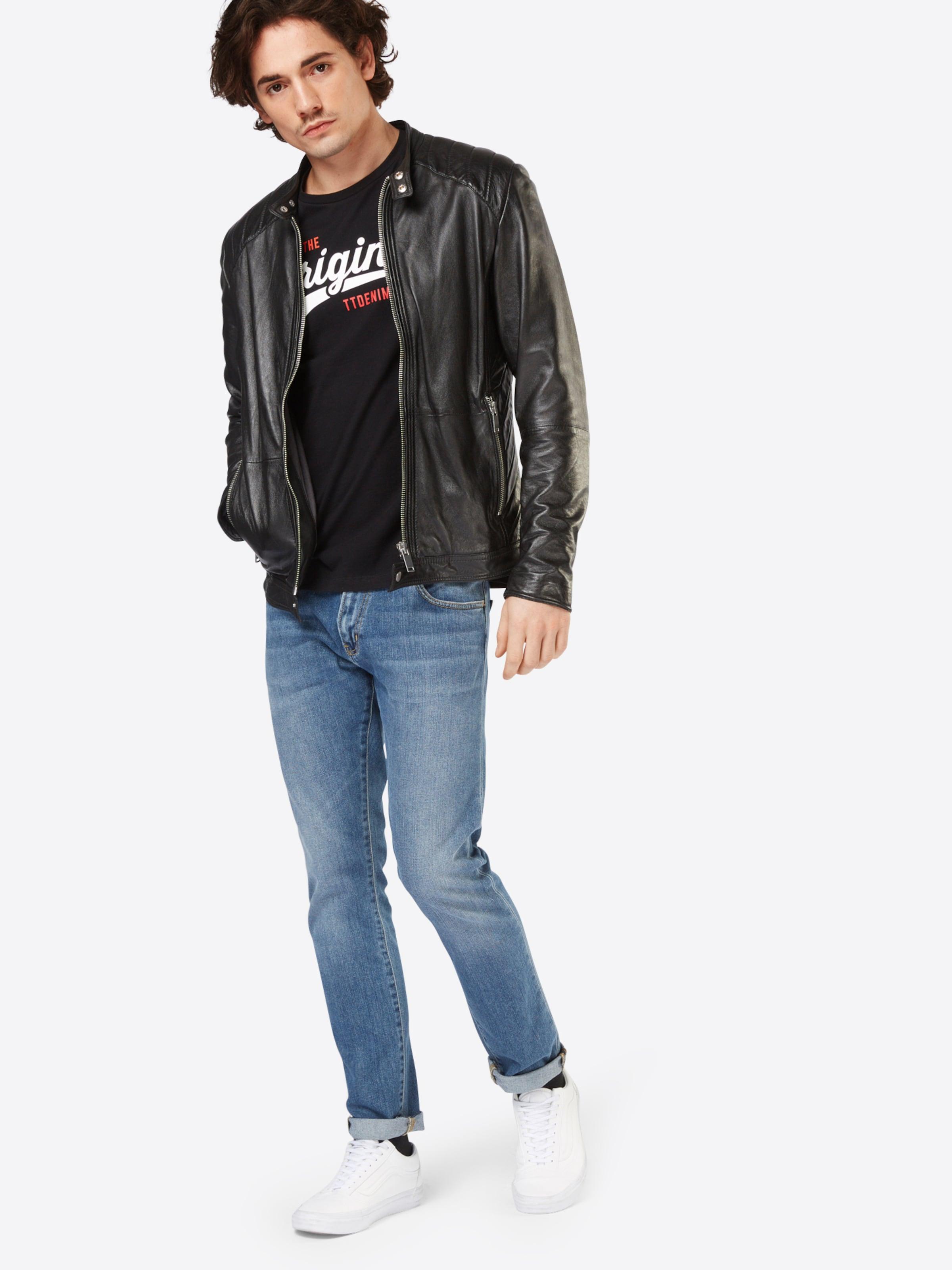 Großhandelspreis TOM TAILOR DENIM T-Shirt mit Front-Print Günstige Verkaufspreise Verkauf Gut Verkaufen Freies Verschiffen Ursprüngliche Verkauf Niedrigen Preis Versandgebühr SlVI4t