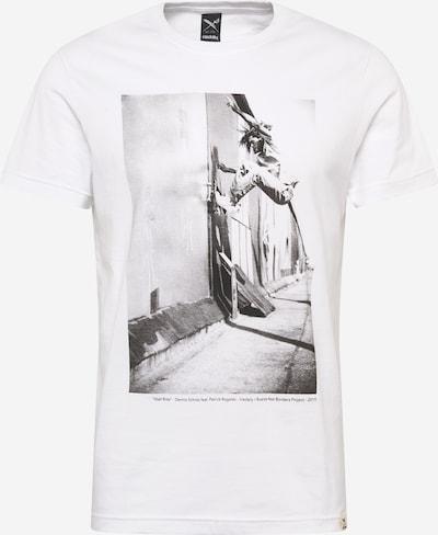 Iriedaily Majica u siva / bijela, Pregled proizvoda