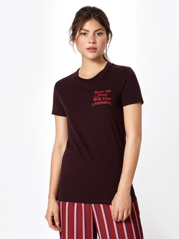 En T 'eden shirt ' Bourgogne Wood f6gIbY7yv