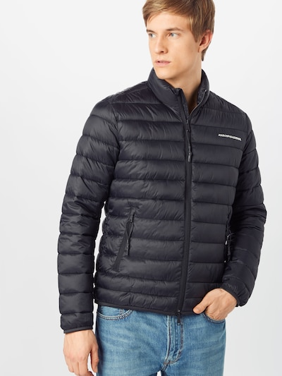 Marc O'Polo DENIM Steppjacke in schwarz: Frontalansicht
