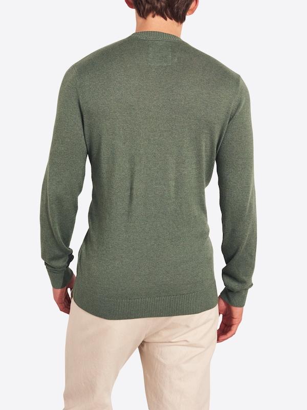 Hollister Pullover dunkelgrün Herren Bekleidung