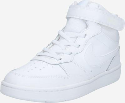 Nike Sportswear Sneaker 'Court Borough Mid 2' in weiß, Produktansicht
