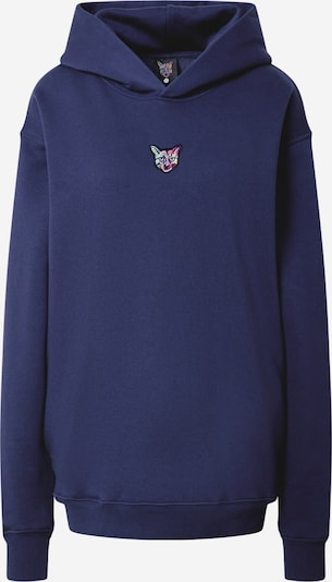 PARI Hoodie 'SPORTS CLUB CAT' in navy, Produktansicht