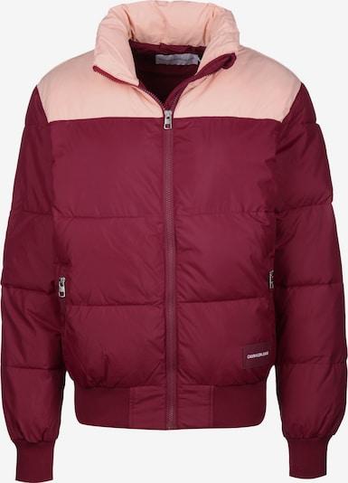 Calvin Klein Jeans Winterjacke ' Blocking Puffer W ' in rot, Produktansicht