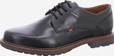 FRETZ MEN Schnürschuhe in braun / rot / schwarz, Produktansicht