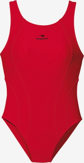 KangaROOS Badeanzug in rot, Produktansicht