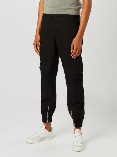 NU-IN Džíny s kapsami - černá džínovina, Model/ka