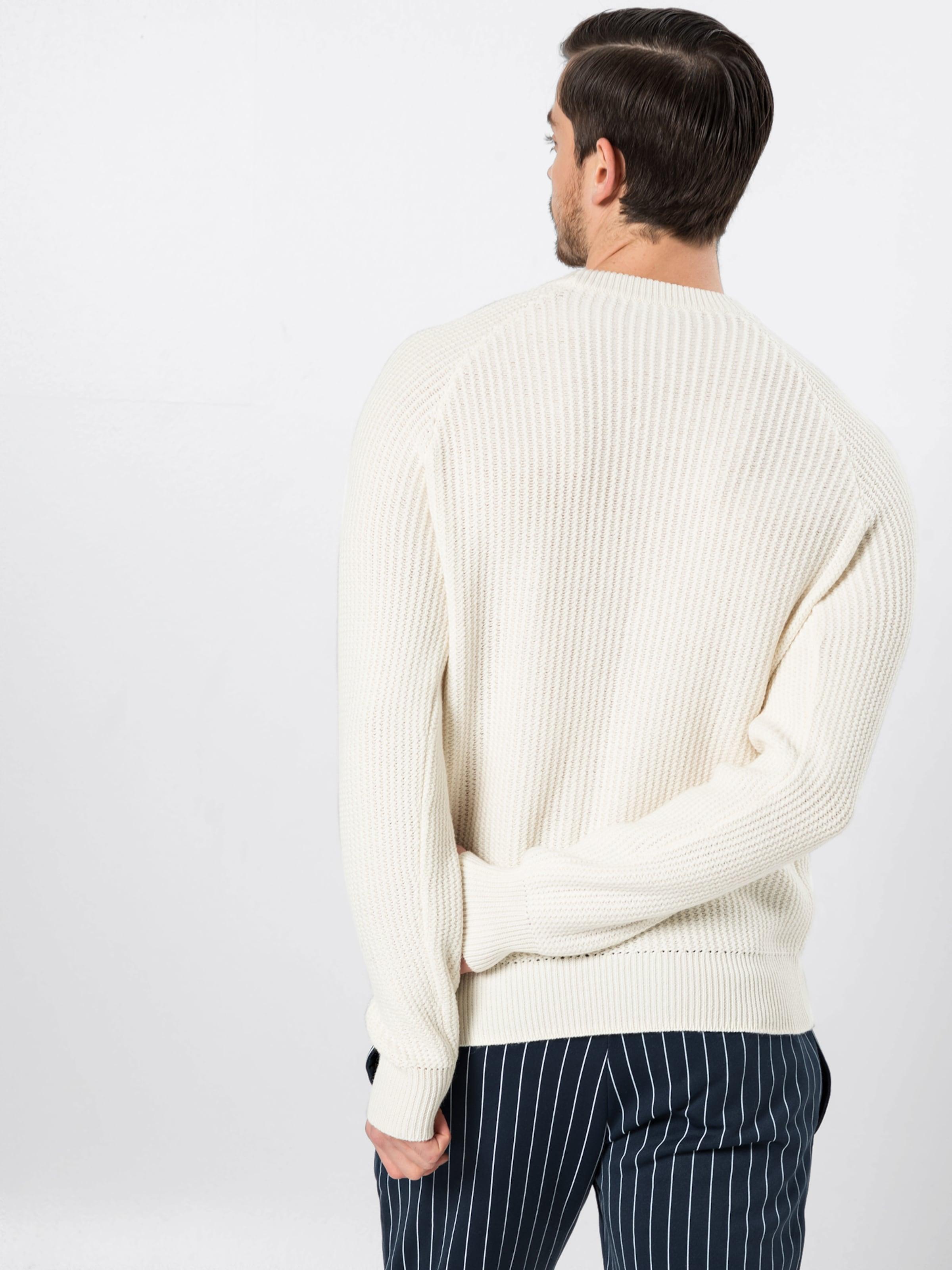 'mWave Filippa Sweater' Pullover Stitch K In Offwhite H92WDIEY