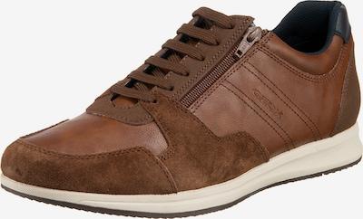 GEOX Sneaker 'U Avery' in navy / karamell, Produktansicht