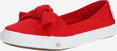 Dockers by Gerli Ballerina in rot / weiß, Produktansicht