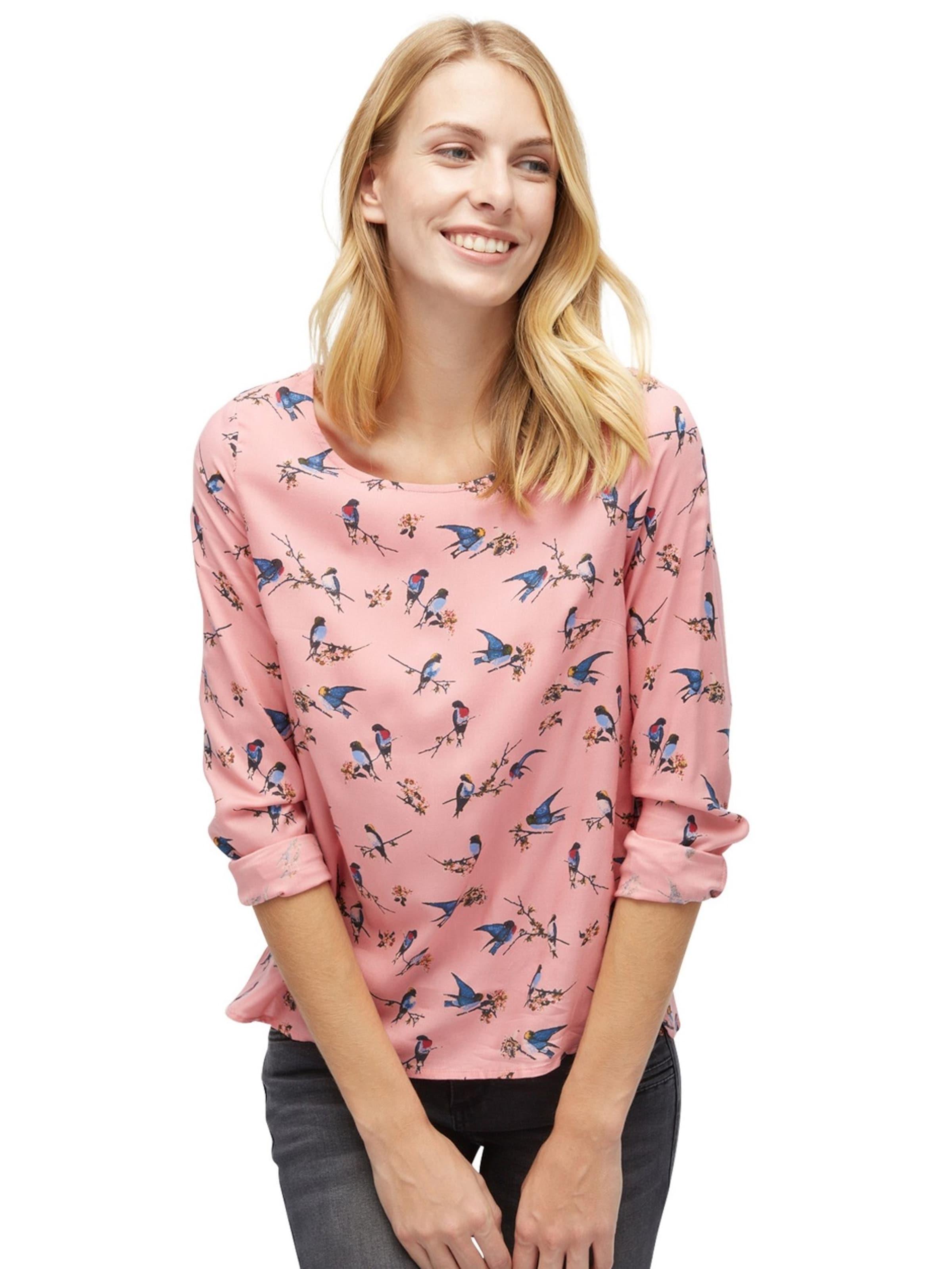 Für Schönen Günstigen Preis TOM TAILOR Shirt / Blouse gemusterte Bluse Verkauf Finish Auslasszwischenraum Store Perfekt Zum Verkauf 100% Original Günstig Online 4XJDA