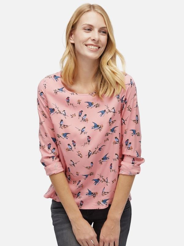 TOM TAILOR Shirt / Blouse gemusterte Bluse