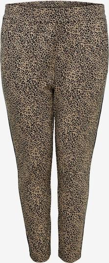 ONLY Carmakoma Pantalon en beige / marron / noir, Vue avec produit