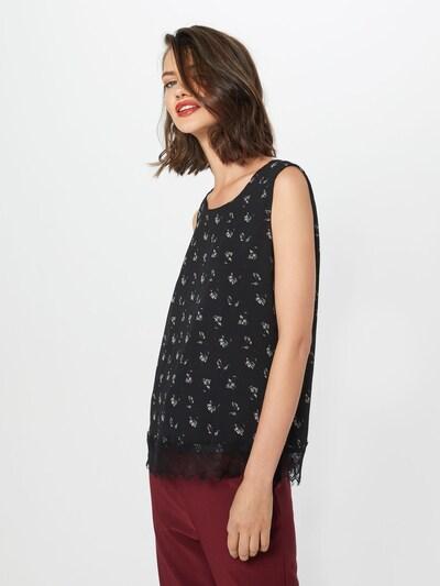 VERO MODA Bluse 'VMVIOLA SL TOP' in schwarz, Modelansicht
