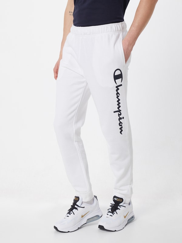 Champion Authentic Athletic Apparel Jogginghose in weiß, Modelansicht