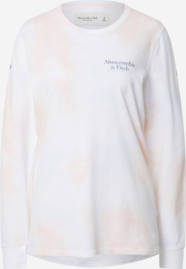 Abercrombie & Fitch Shirt 'CHASE FLOCK WORLD' in pink, Produktansicht