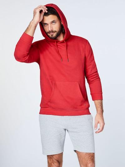 CHIEMSEE Sport-Sweatshirt in rot: Frontalansicht