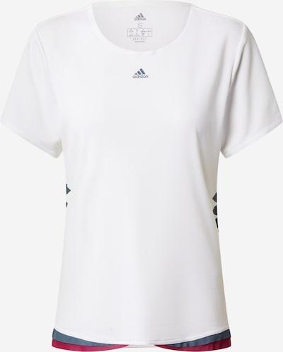 ADIDAS PERFORMANCE Shirt 'Tee P H.Rdy' in grau / bordeaux / weiß, Produktansicht