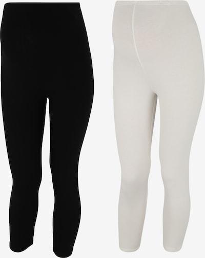 MAMALICIOUS Pantalon de pyjama 'MLLEA' en noir / blanc, Vue avec produit