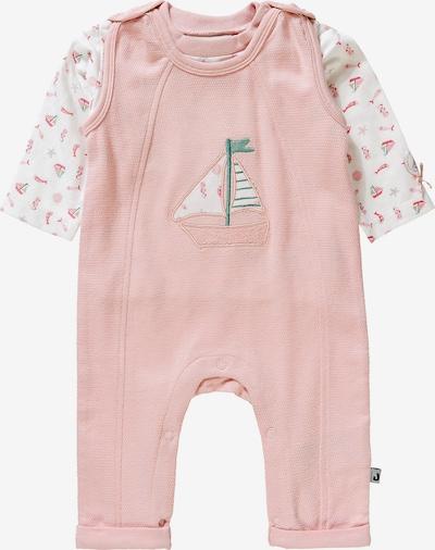 JACKY Laufhosen-Set 'Coucou Ma Petite' in grün / rosa / weiß, Produktansicht