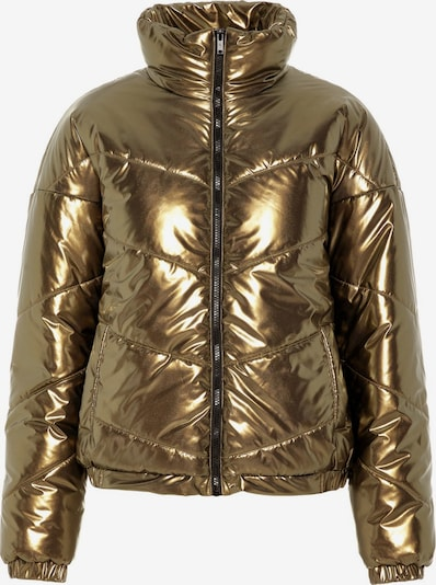 Noisy may Winterjas 'NMCESEI L/S JACKET 7' in de kleur Goud, Productweergave