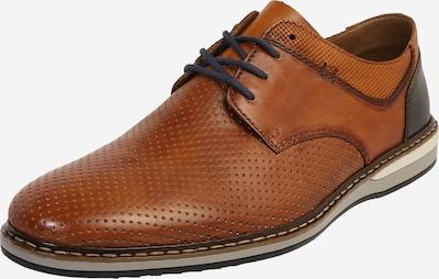 barna / sötét barna RIEKER Fűzős cipő, Termék nézet