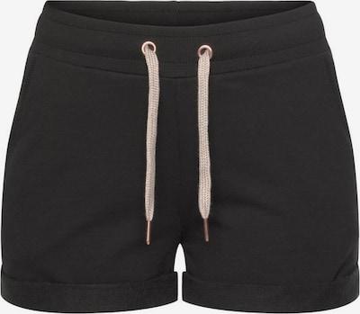 LASCANA Pantalon de pyjama en noir, Vue avec produit