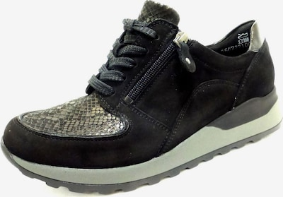 WALDLÄUFER Schuh in schwarz / silber, Produktansicht