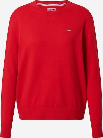 Tommy Jeans Pull-over en rouge, Vue avec produit