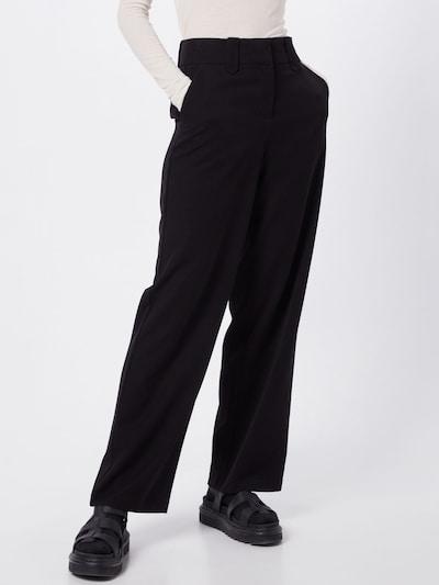 VILA Hose 'WILLOW' in schwarz, Modelansicht