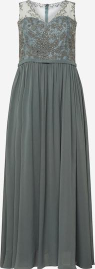 My Mascara Curves Suknia wieczorowa 'LACE V' w kolorze zielonym: Widok z przodu