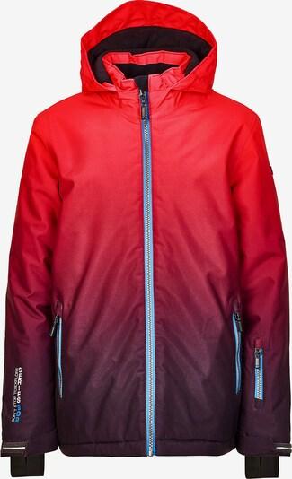KILLTEC Skijacke 'Pendaro' in rot / weinrot, Produktansicht