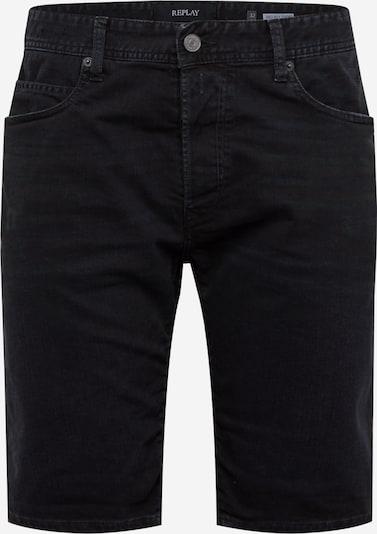REPLAY Jeansshorts in schwarz, Produktansicht