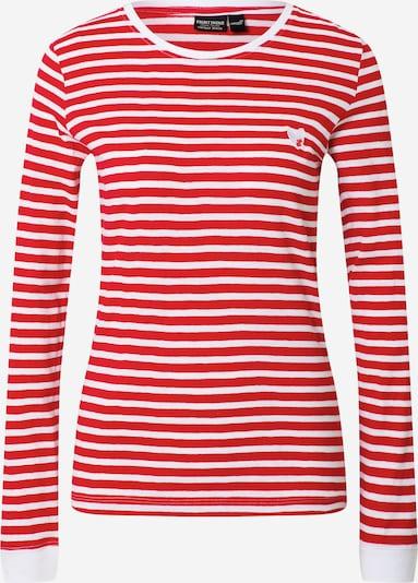 Tricou Eight2Nine pe roșu / alb, Vizualizare produs