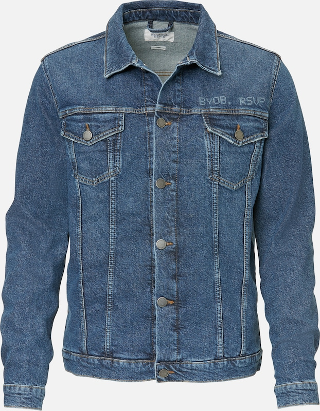 Marc O'Polo DENIM Jeansjacke in blue denim, Produktansicht