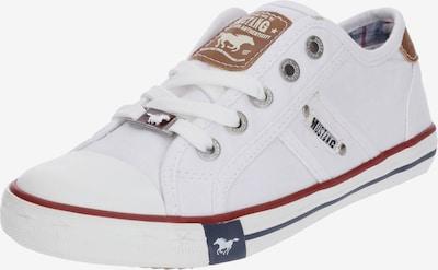 MUSTANG Schuhe in weiß, Produktansicht