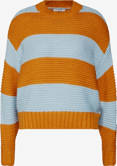 PIECES Pullover 'PCINA' in orange, Produktansicht