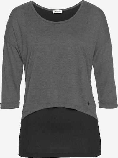 OCEAN SPORTSWEAR 2-in-1-Shirt in graumeliert, Produktansicht