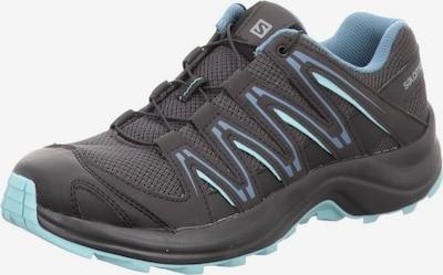 SALOMON Outdoorschuhe in hellblau / schwarz, Produktansicht